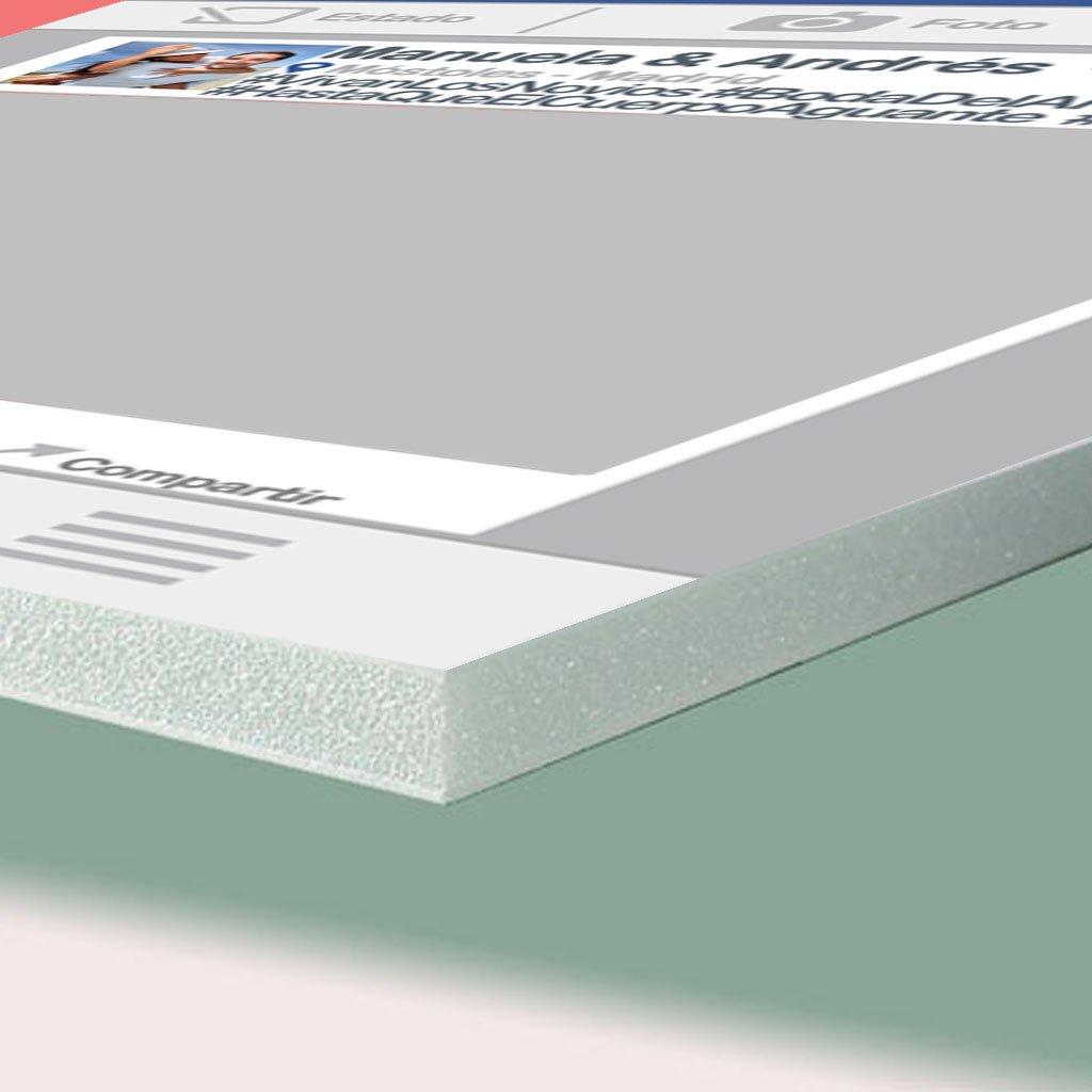 Cartón pluma PVC 1 cm