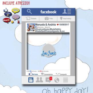 Photocall Marco Redes Sociales Facebook