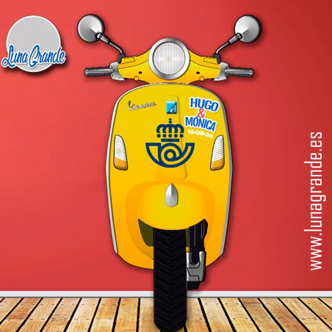 Photocall Moto Scooter Correos