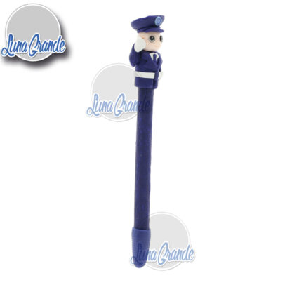 Bolígrafo artesanal Policía