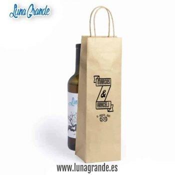 Bolsas de papel para botellas Infinito Banderola