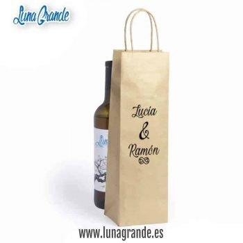 Bolsas de papel para botellas infinitos