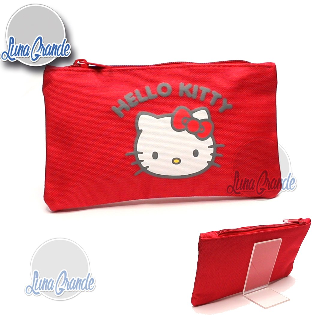 Bolsito Estuche Guardatodo Hello Kitty detalle