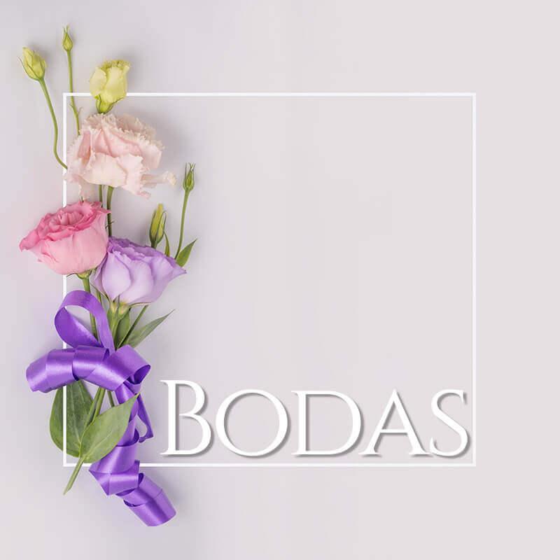 Cátalogo de productos para Boda