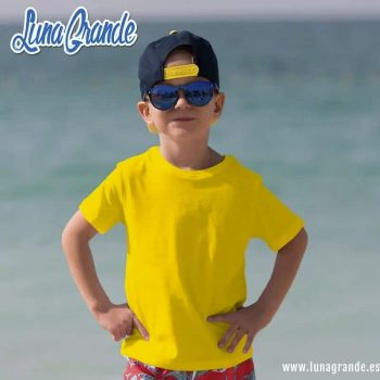 Camiseta infantil colores