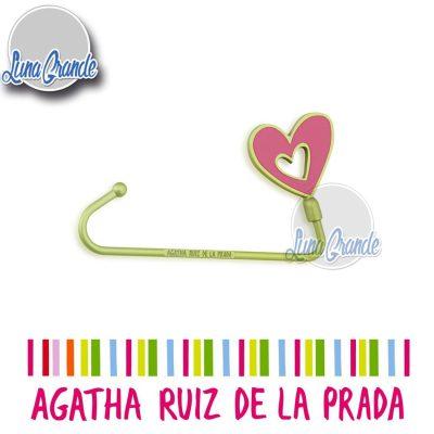 Cuelga bolso Agatha Ruiz de la Prada Corazón