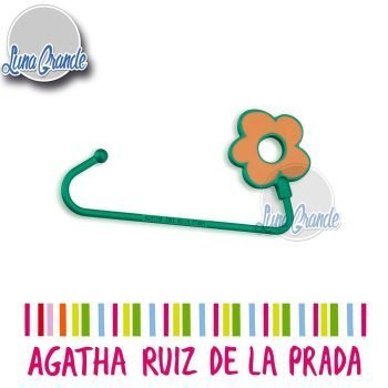 Cuelgabolso Agatha Ruiz de la Prada flor