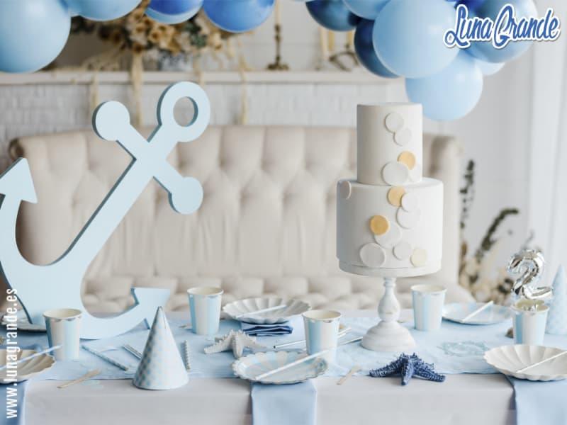 Decoración fiesta de cumpleaños niño de dos años