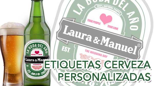 Etiquetas de cervezas personalizadas