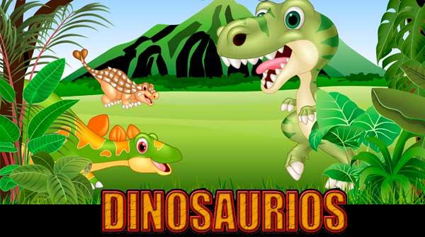 Fiesta Temática Infantil Dinosaurios