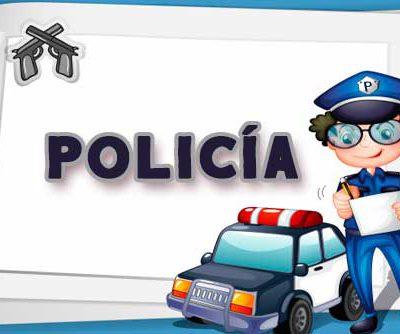 Fiesta Temática Policía - Guardia Civil