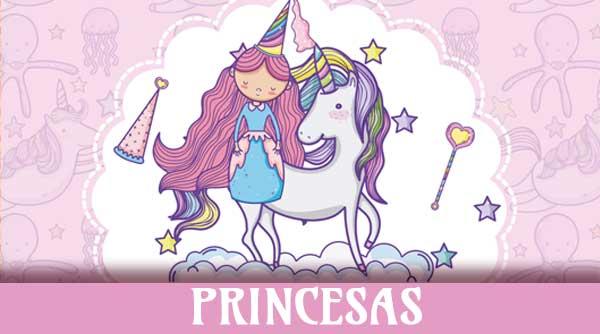 Fiesta Infantil temática Caballeros y Princesas