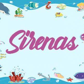 Fiesta temática Sirenas