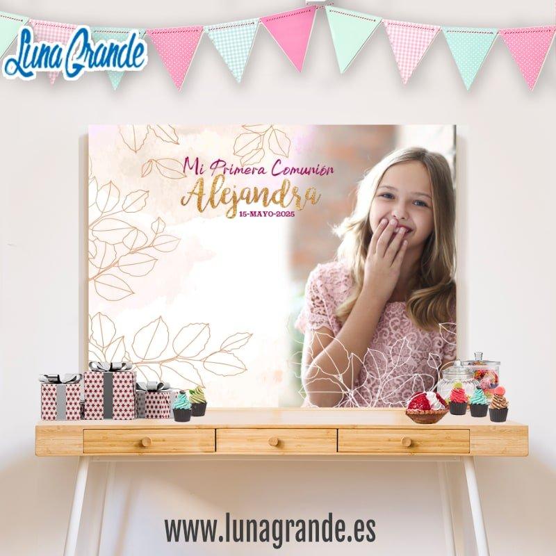 Fondo Candy Bar - Mesas dulces para comunion