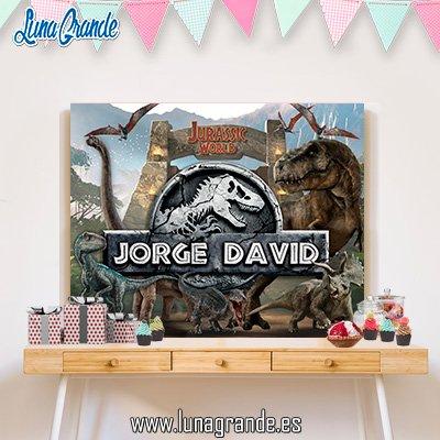 Fondo Candy Bar Parque Jurásico