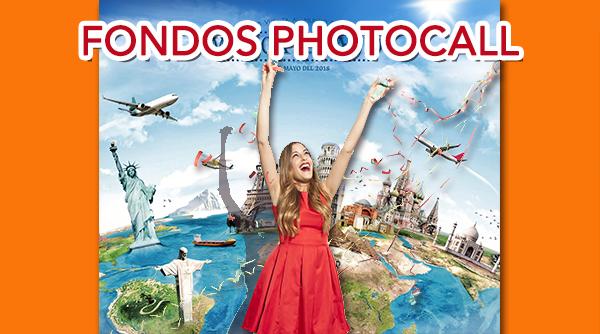Photocall Fondos