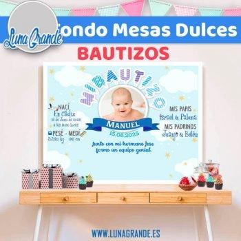 Fondos Candy Bar Bautizo