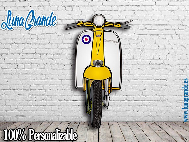 Nuevo Photocall Scooter amarillo