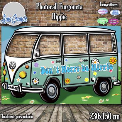 Photocall Cartón Furgoneta