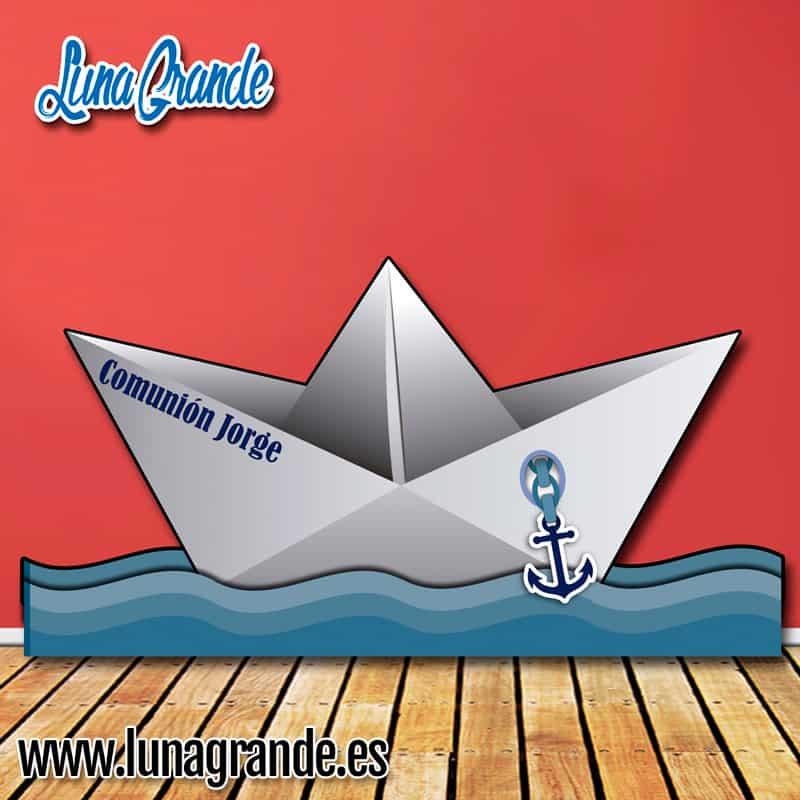 Photocall Barco de Papel XXL