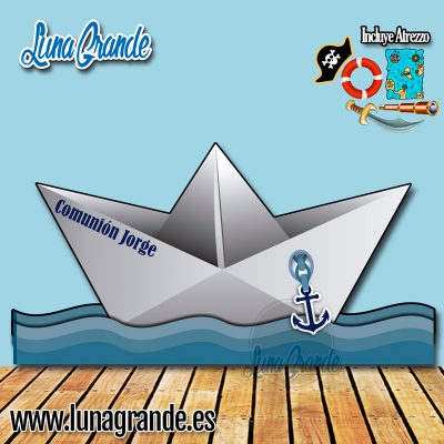 Photocall Barco de Papel
