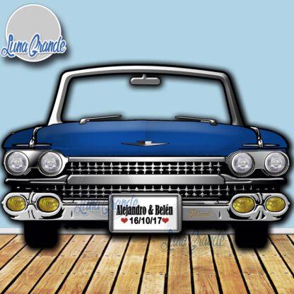 Photocall Cadillac Azul