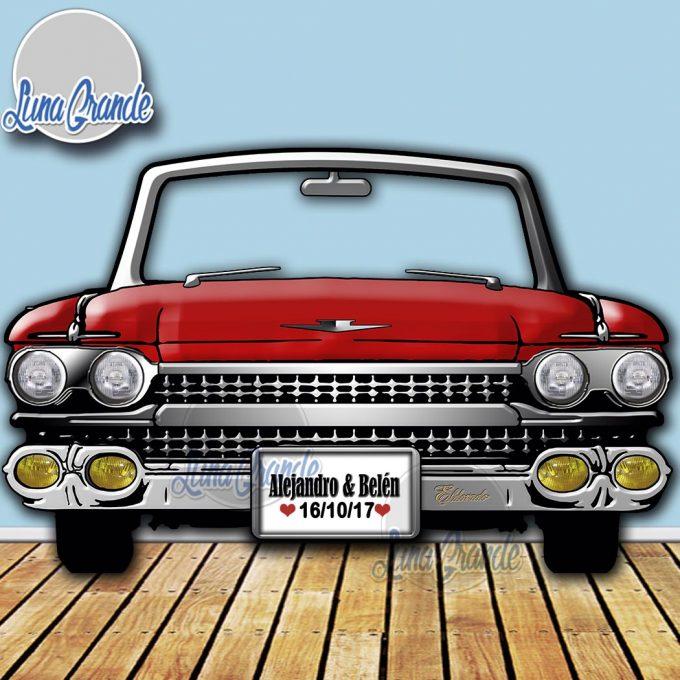 Photocall Cadillac Rojo