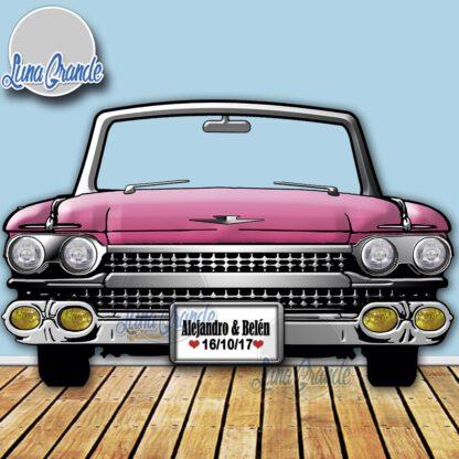 Photocall Cadillac Rosa LG
