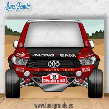 Photocall Coche 4x4 Rally para bodas