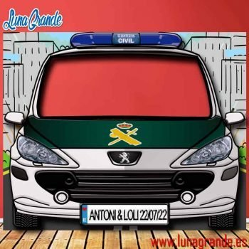 Photocall Coche de Guardia Civil