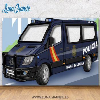 Photocall Furgón Policial - Policía Nacional