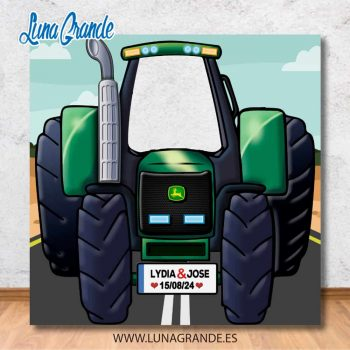Photocall Infantil Tractor Agrícola John Deere