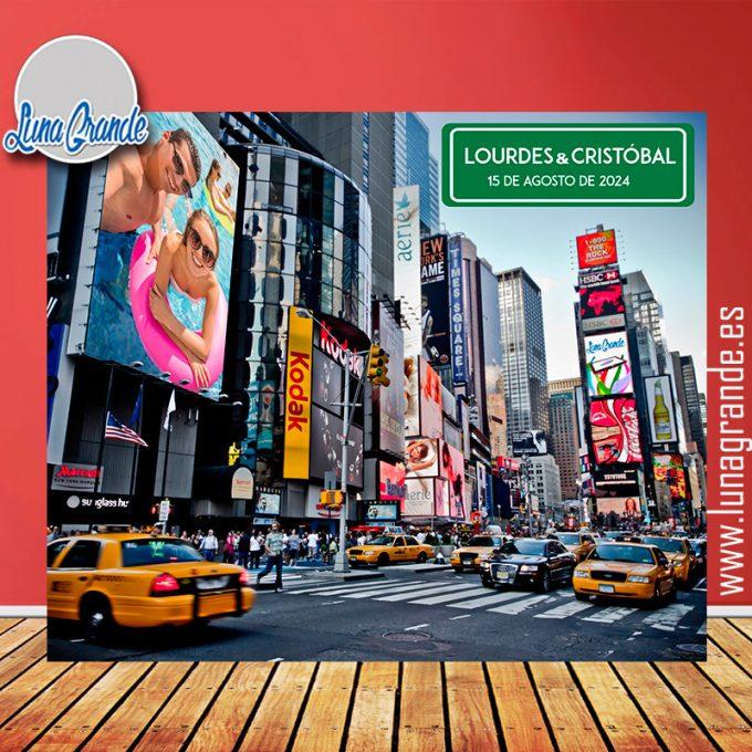 Photocall Lona Nueva York con Estructura