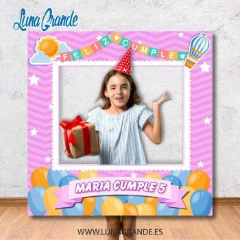 Photocall Marco Cumpleaños infantil Globos