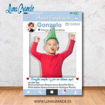 Photocall Marco Infantil para Cumpleaños