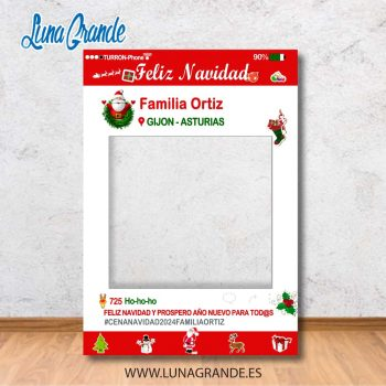 Photocall Marco Navidad recortado