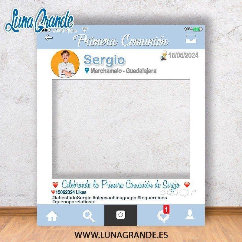 Photocall Marco Primera Comunión Niño
