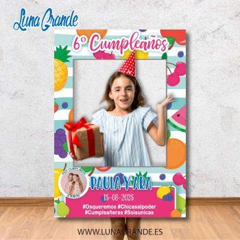 Photocall Marco de Cumpleaños infantil