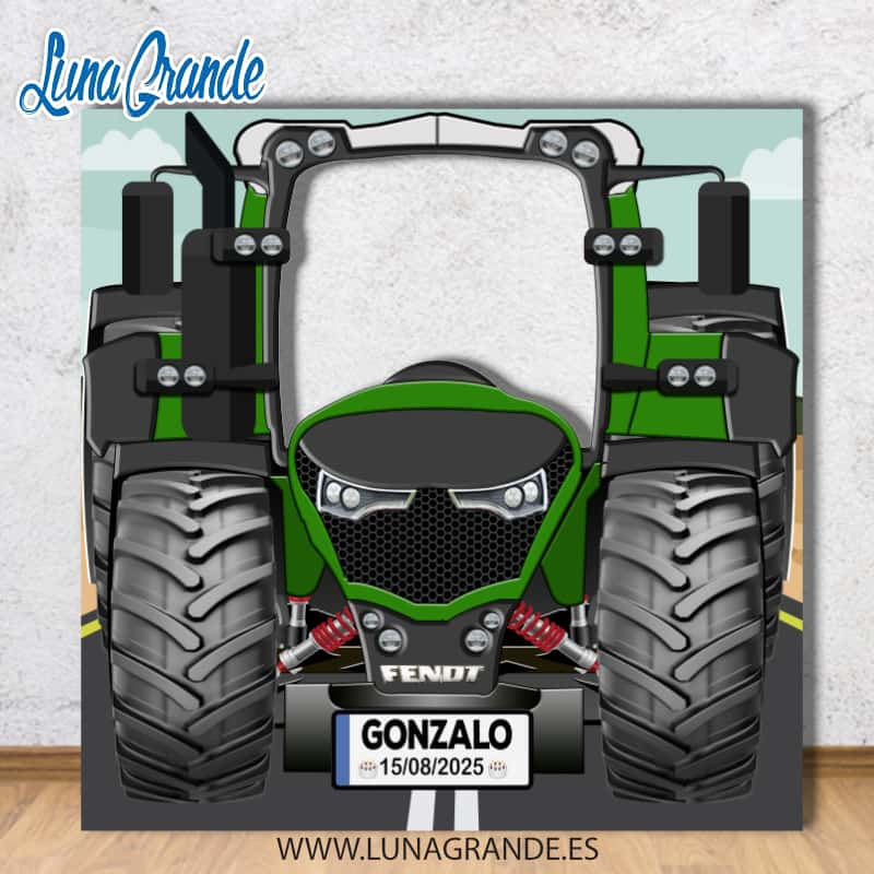 Photocall Tractor Fendt
