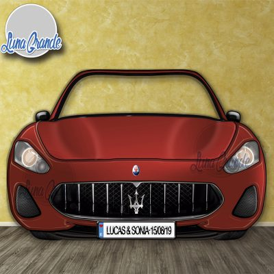Photocall coche deportivo Maseratti