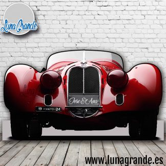 Photocall coche deportivo clásico