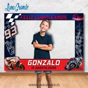 Photocall motociclismo Cumpleaños
