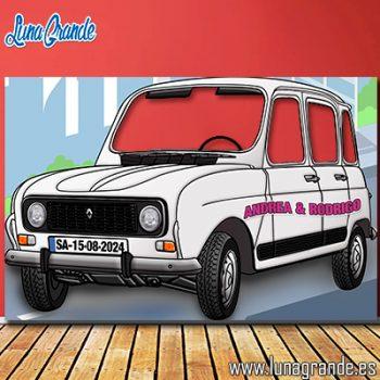 Photoccall Renault 4 Latas