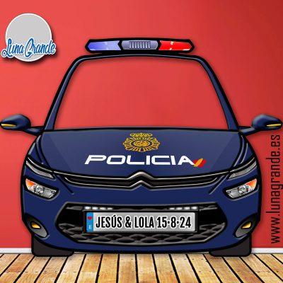 Photocall Coche Policía Nacional