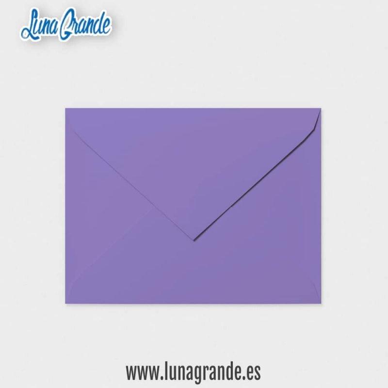Sobre para invitaciones de boda en color Púrpura