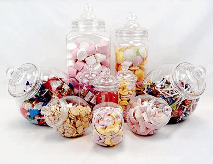 Tarros para gominoles Candy Bar