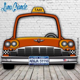 Photocall Coche Taxi Nueva York