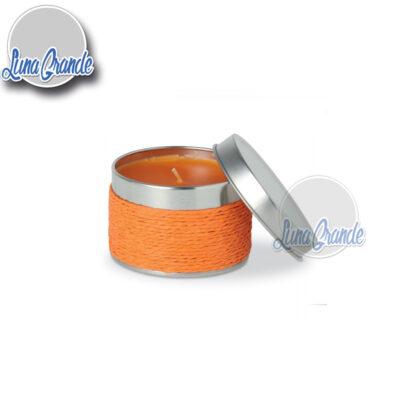 Vela Perfumada Naranja en lata