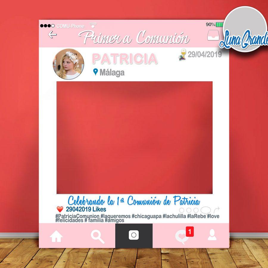 Photocall marco comunión 100x120 lg