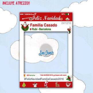 Photocall Marco Navidad